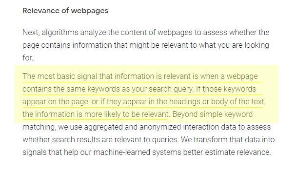apa itu onpage seo dan relevansi halaman