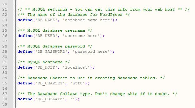 Credential Login Database Error