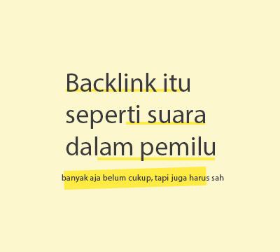 Faktor Ranking Backlink Berkualitas