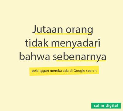 Pelanggan potensial Google