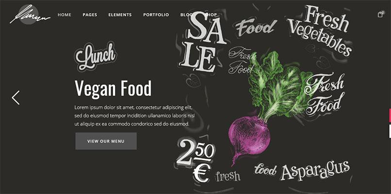 Savori Template Restoran WordPress