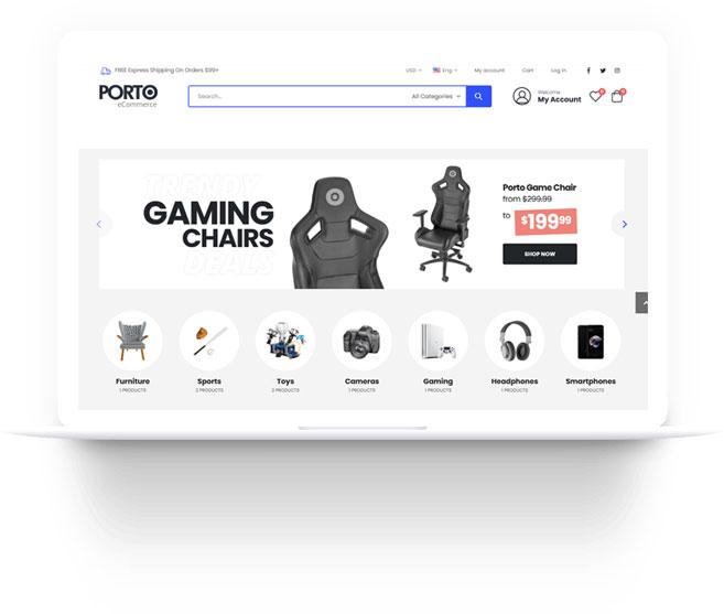 Themes Toko Online untuk furniture